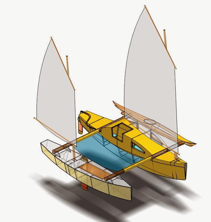 Proa File   Bit & Kontell Outrigger Pocket Cruiser