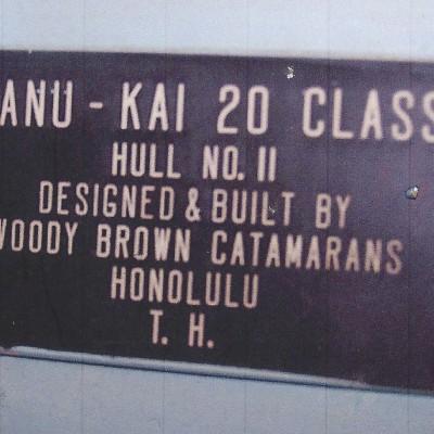 1955 Manu Kai 20 by Woody Brown