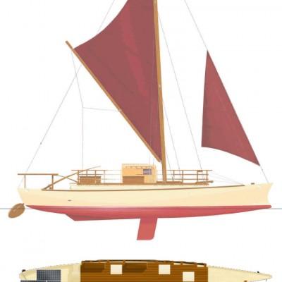 Proa File | Vaka Motu - work boat and beauty queen in one