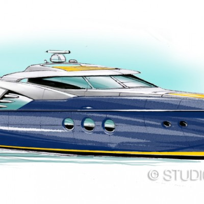 Self promotion - motor yacht