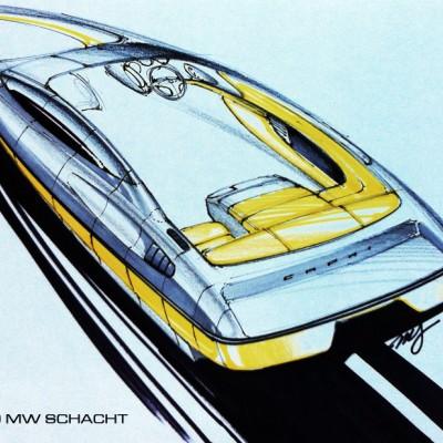 Bayliner Capri concept sketch