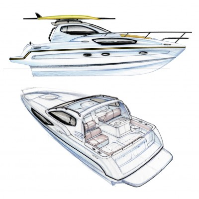 Bayliner Ciera concept sketch