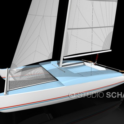 Beachcruiser catamaran