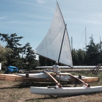 Palindrome - land sailing