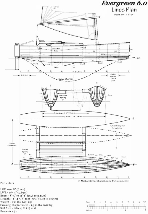 Art Line Yacht Design : Proa file evergreen a fast expedition catamaran