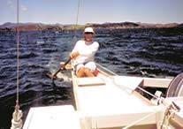 Steering oar