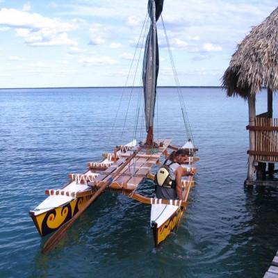 Gunnar's double canoe