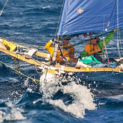 The Holopuni Sailing Canoe