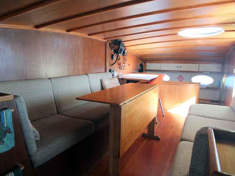 Proa File | Pete Hill's KD10 biplane junk rig cat